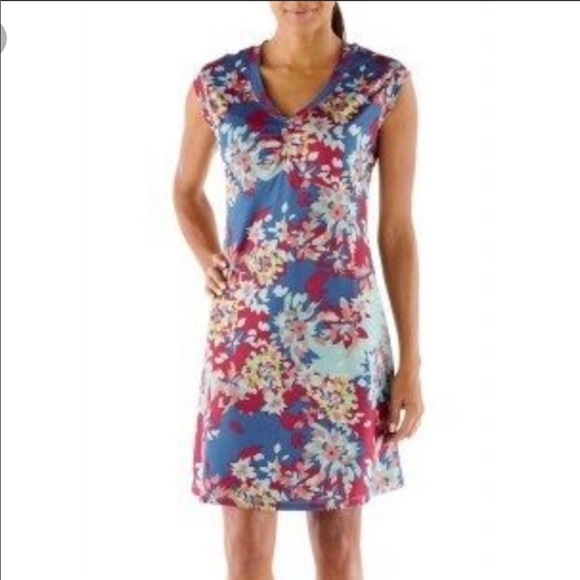 REI Northway Floral Dress Size Small